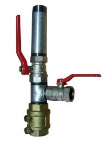 Doppelter Pumpenstock 1 1-4 Zoll 5/4 Rammbrunnen