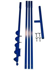 Brunnenbau Erdbohrer Set 4m 130mm