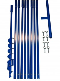 Brunnenbau Erdbohrer Set 9m 110mm