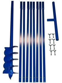 Brunnenbau Erdbohrer Set 9m 150mm