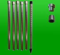 Brunnenbau-Set 7,2 m 13 tlg 1-1/4 Zoll - Rammbrunnen