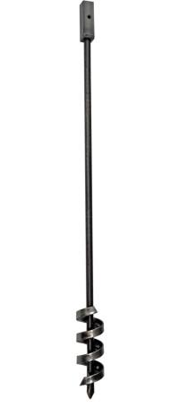 Brunnenbohrer 70mm mit Aufkantung - Bohrkopf 7cm