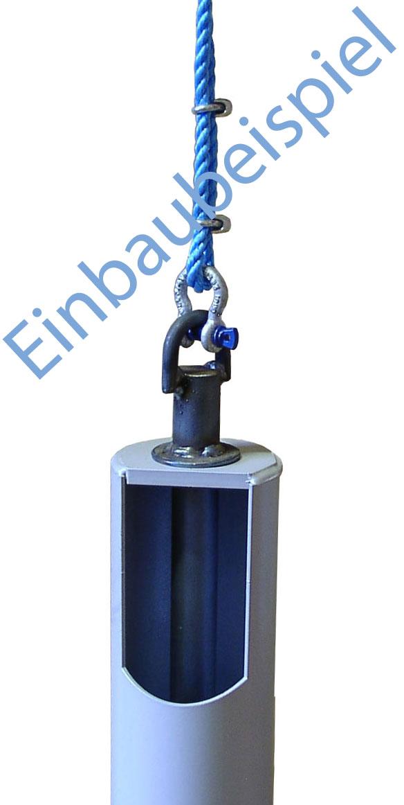 Schäkel hochfest für Kiespumpe oder Plunscher