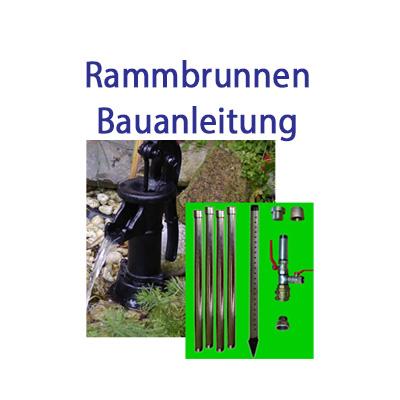 Brunnenbau-Set 9.50m Rammbrunnen 22 tlg 1-1/4 Zoll