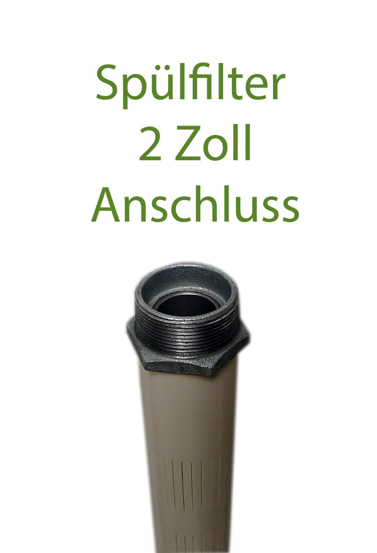 Spülfilter 2 Zoll - Brunnenfilter zum einspülen - Tiefsaugfilter