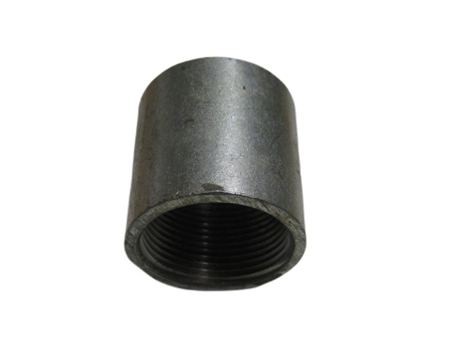 Muffe für Rammfilter 1 1/2 zoll Stahl