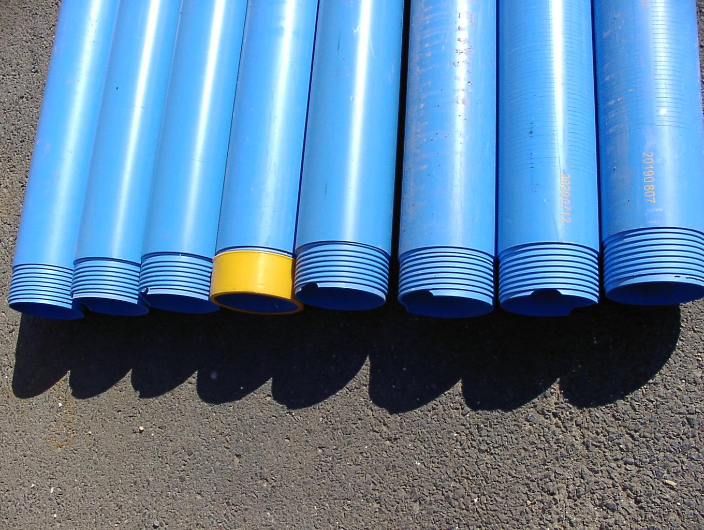 Brunnenrohr Set 2 C Ware - 9m DN100 TNA 6 x Glattwandrohr 3 x Glattwand Brunnenfilter 0,5mm Schlitzweite