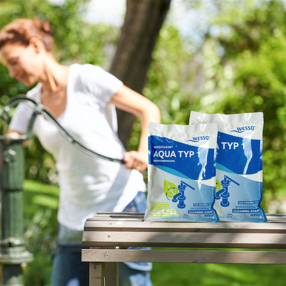 AQUA TYP 1 WESSOCLEAN 400g Brunnenreinigung für Rammbrunnen