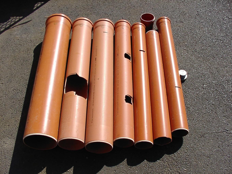 KG Rohr Filter Set 9 C Ware - 3 x KG100 1 x 125 - 2 x 150 1 x 200 Filter 0,5mm Schlitzweite