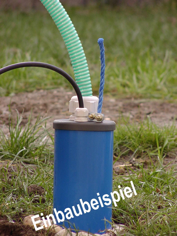 Brunnenkopf für Brunnenrohr DN 80