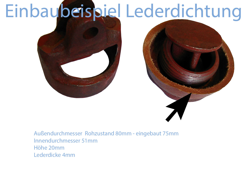 Dichtung Set Schwengelpumpe Typ 75