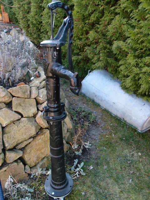 Fundament Halter für Pumpenständer Schwengelpumpe Typ 75
