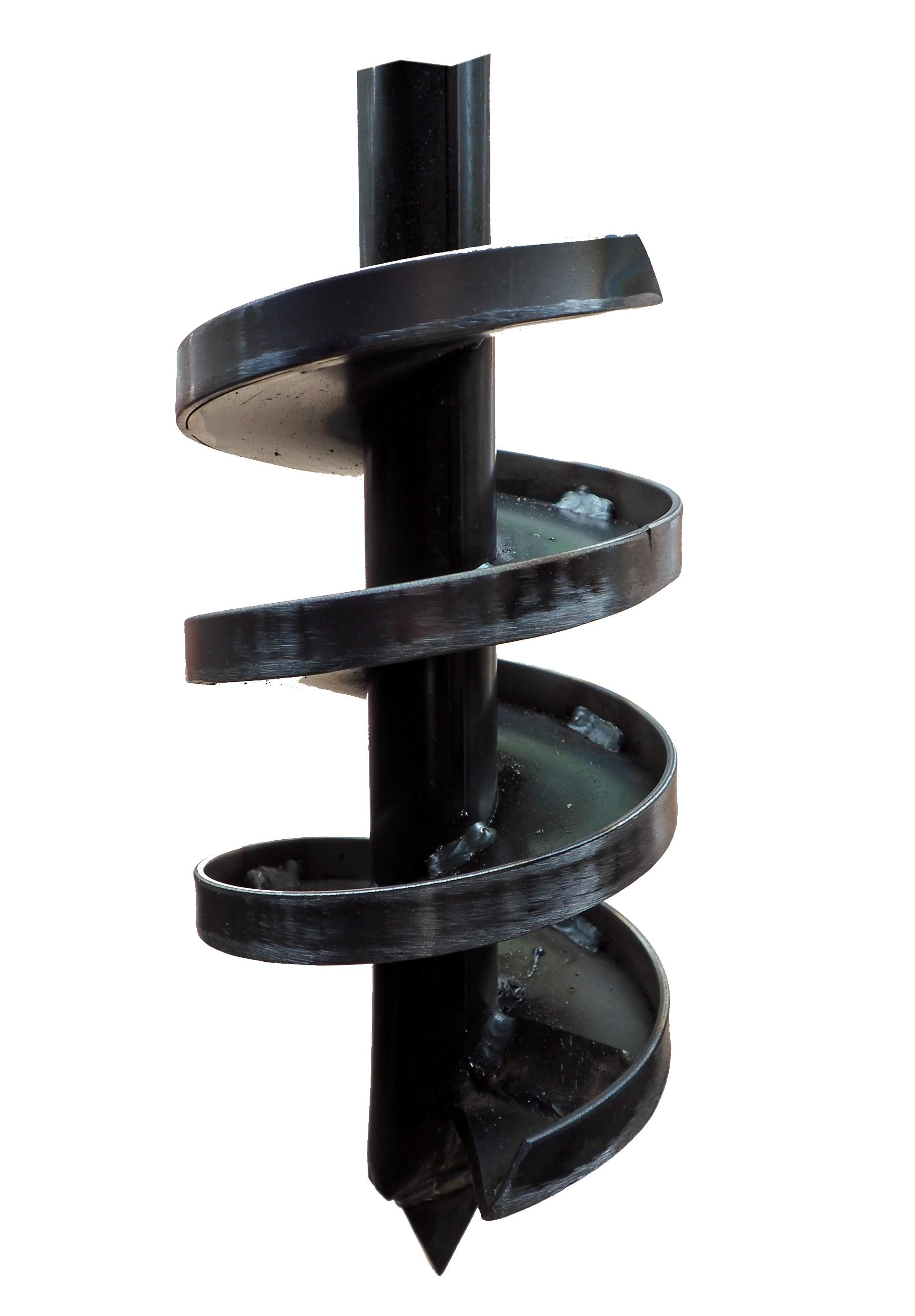 Brunnenbohrer 145mm mit Aufkantung - Bohrkopf 14,5cm