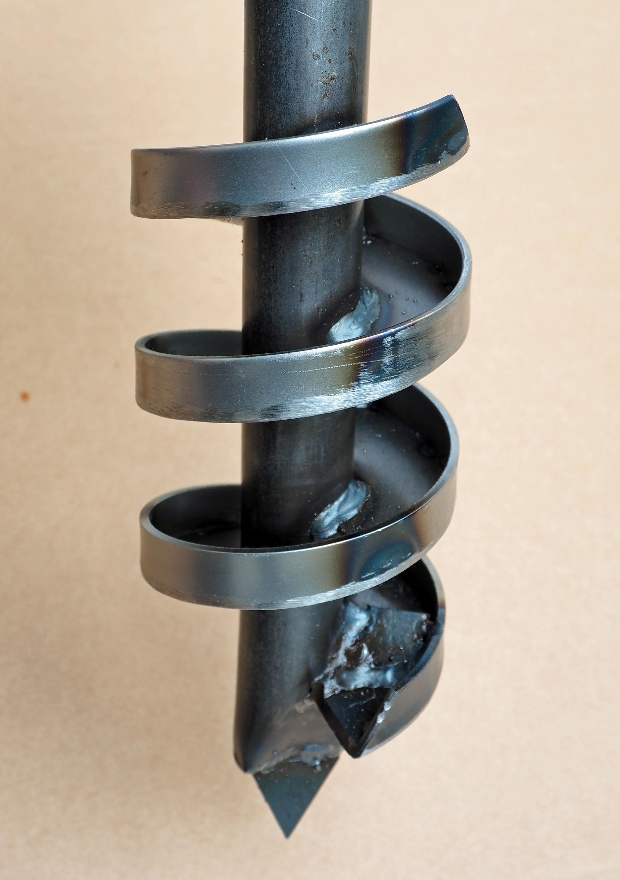 6m Set Brunnenbohrer 98mm mit Aufkantung
