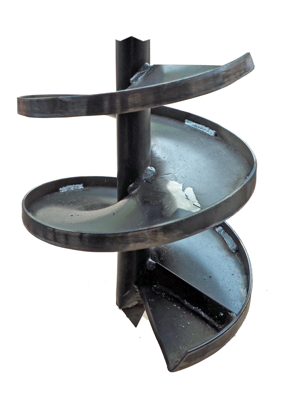 Brunnenbohrer 260mm mit Aufkantung - Bohrkopf 26cm