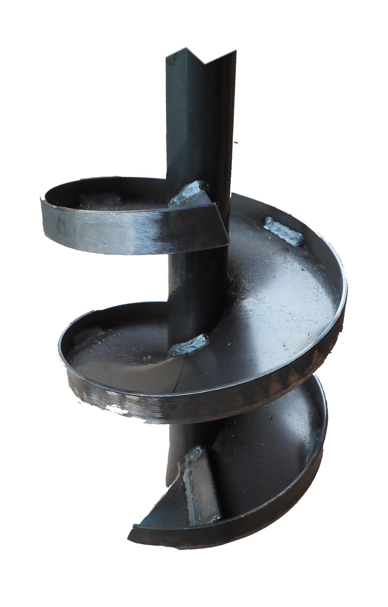 Brunnenbohrer 190mm mit Aufkantung - Bohrkopf 19cm