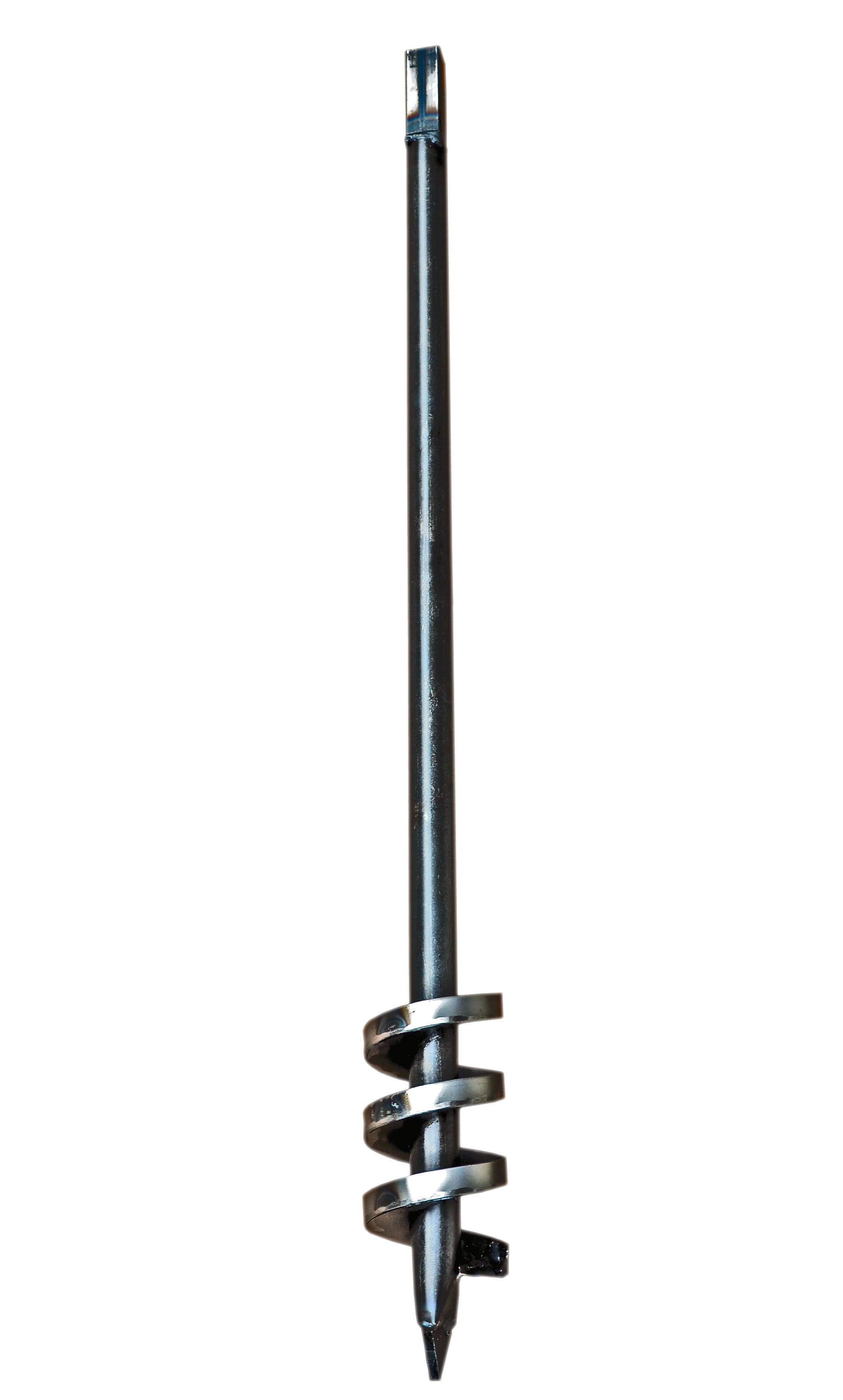 Brunnenbohrer 98mm mit Aufkantung - Bohrkopf 9,8cm