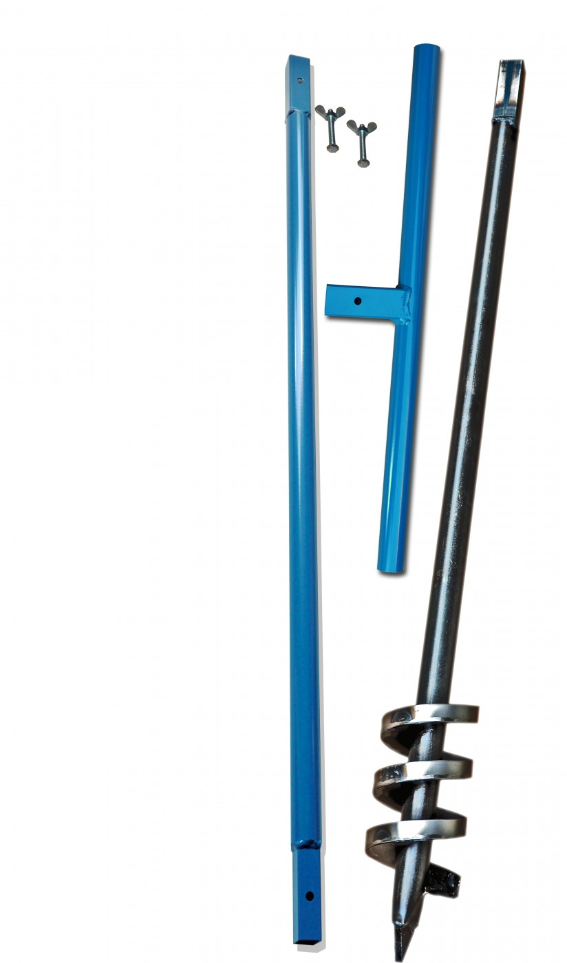 2m Set Brunnenbohrer 190mm mit Aufkantung