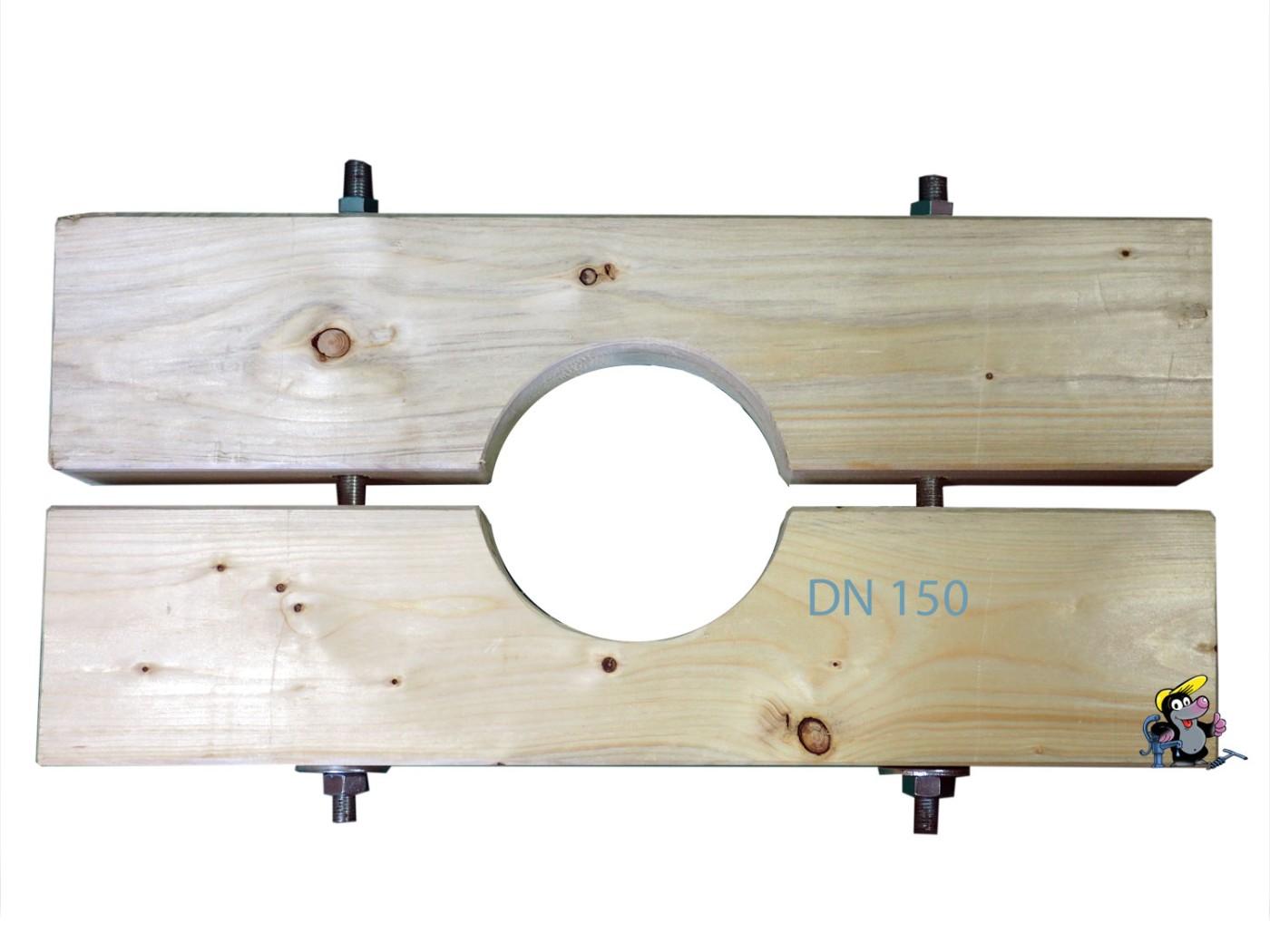 Klemme Aus Holz Zum Plunschen Dn150 165mm