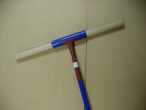 Sonderangebot Erdbohrer 50 mm 5 cm - 1m lang blau - B Ware