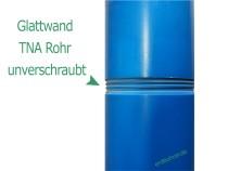 Glattwand Brunnenrohr DN115 - 4 1/2 Baulänge 1m TNA Gewinde