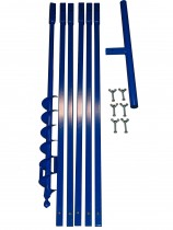 Brunnenbau Erdbohrer Set 6m 50mm