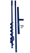 Brunnenbau Erdbohrer Set 2m 70mm