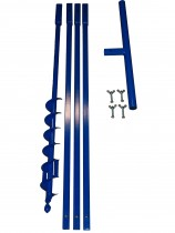Brunnenbau Erdbohrer Set 4m 70mm