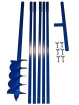 Brunnenbau Erdbohrer Set 6m 175mm