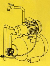 Druckschalter PM 5 3 W 1-5 bar mit Kabel