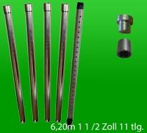 Brunnenbau-Set 6.20m 11 tlg 1-1/2 Zoll