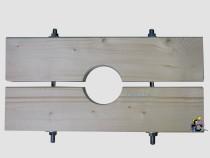 Holzzange die Große für DN 115 Brunnenrohr AD=125mm