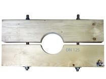 Holzzange die Große für DN 125 Brunnenrohr AD=140mm