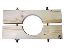 Holzzange die Große für DN 200 Brunnenrohr AD=225mm