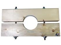 Holzzange die Große für KG 150 Rohr AD=160mm