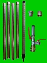 Brunnenbau-Set 6m 16 tlg 1-1/4 Zoll Rammbrunnen